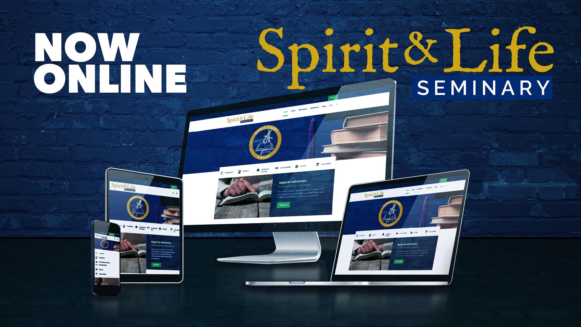 Lanzamiento de la página web del Seminario Espíritu y Vida